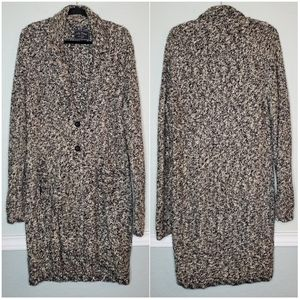 LUCKY BRAND | Long Marled Knit Cardigan Sweater XL